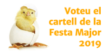 Voteu el cartell de la Festa Major 2019