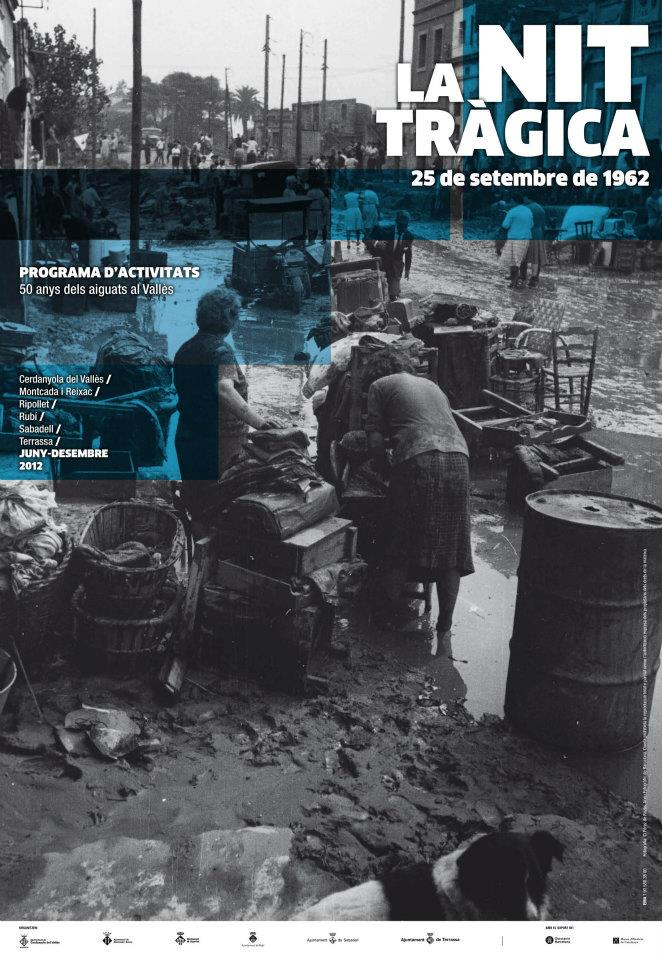 Riuades 1962. Repic de campanes i minut de silenci